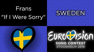 tesshex reviews if i were sorry by frans sweden