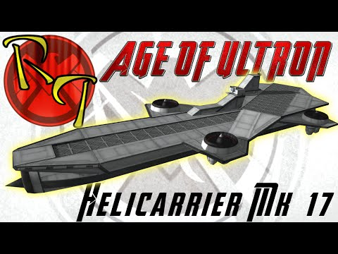 Avengers: Age of Ultron - Helicarrier in KSP 1.0