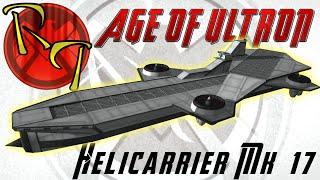 Avengers: Age of Ultron - Helicarrier in KSP 1.0