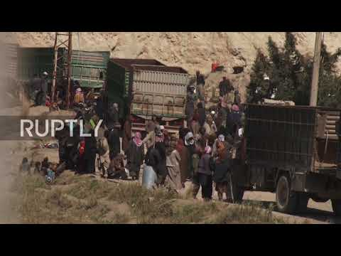Syria: IS fighters from last enclave near Baghouz surrender