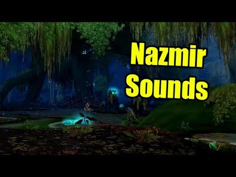 World of Warcraft Alpha ASMR:  Nazmir Sounds (Swamp) (Birds) (Jungle)