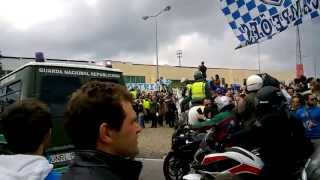 Chegada do autocarro do Futebol Clube do Porto a Paços de Ferreira (19/05/2013)