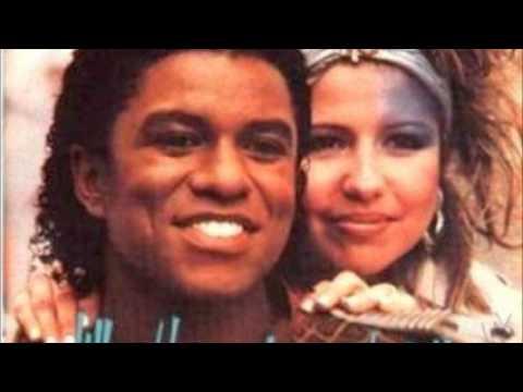 Jermaine Jackson And Pia Zadora When The Rain Begins To Fall