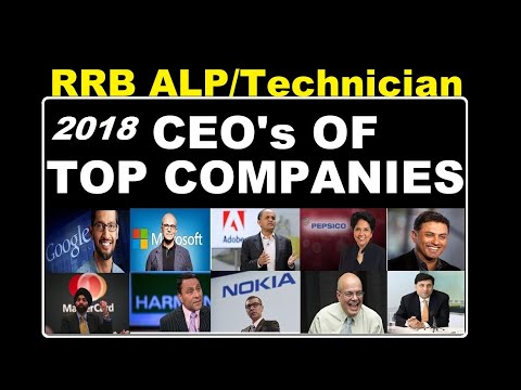 CEO of All Companies - RRB ALP special