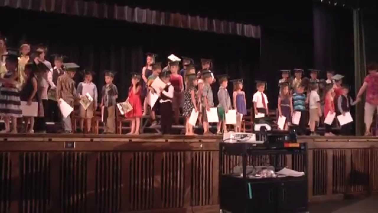 CCRS Kindergarten Graduation  6-24-15