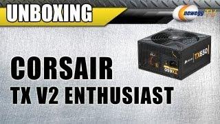 newegg tv corsair tx v2 enthusiast series power supplies first look