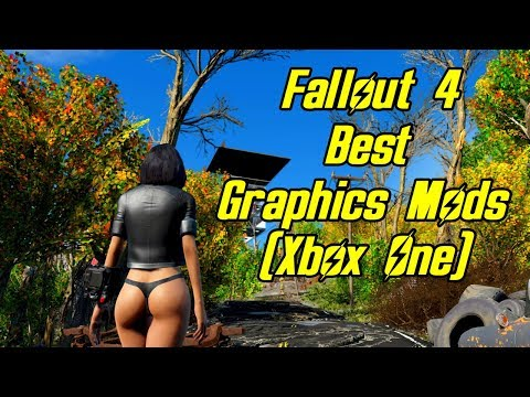 Fallout 4 - BEST CONSOLE GRAPHICS MODS!! (Xbox One)