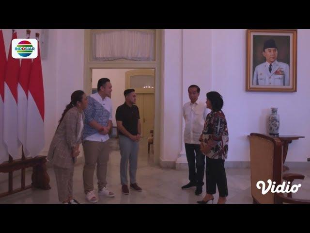 #DangdutanBarengPresiden: Soimah, Ramzi, Gilang Kepergok Pak Jokowi & Ibu Iriana di Istana Bogor 1/5