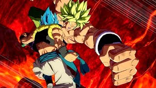 Dragon Ball FighterZ  - Broly (DBS) Release Date Trailer (HD)