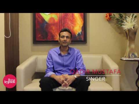 Gulam Qadir Mustafa Khan at ENZY Studios