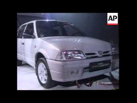 MALAYSIA: FRENCH MALAYSIAN JOINT VENTURE LAUNCHES A NEW CAR