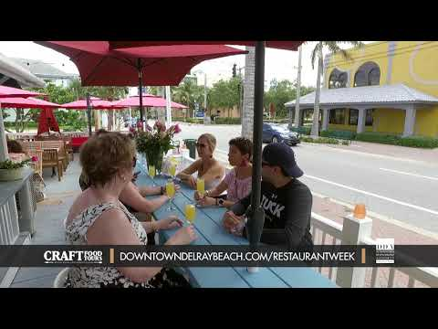 Craft Food Tours - Dine Out Downtown Delray Restaurant Week 2019