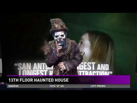 New attractions at San Antonio's 13th Floor Haunted House