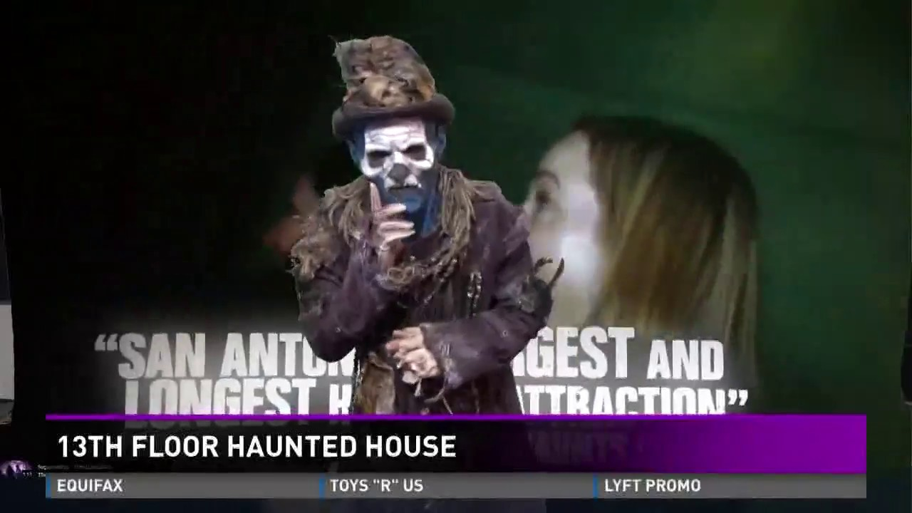 New attractions at san antonio 39 s 13th floor haunted house for 13th floor hunted house