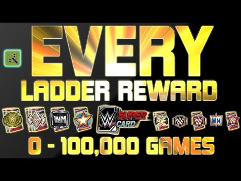 EVERY LADDER REWARD IN SEASON 2 & SEASON 3! 0 to 100000 GAMES PLAYED! | WWE SuperCard
