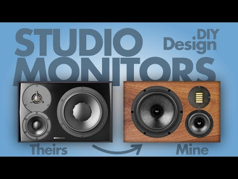 DIY Studio Monitors (DESIGN) Step #1 | Home Recording Studio