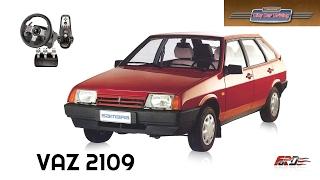 ВАЗ 2109 - тест-драйв, обзор советской легенды City Car Driving за рулем Logitech G27