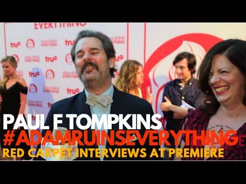 Paul F Tompkins Netflix's #BoJackHorseman interviewed at Adam Ruins Everything Event #truTV