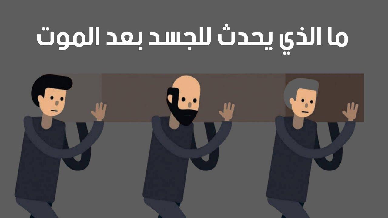 ما الذي يحدث للجسد بعد الموت ..!