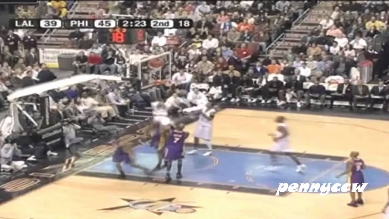 7a82a7d096c7 NBA Greatest Duels  Allen Iverson vs. Kobe Bryant (2005) - YouTube