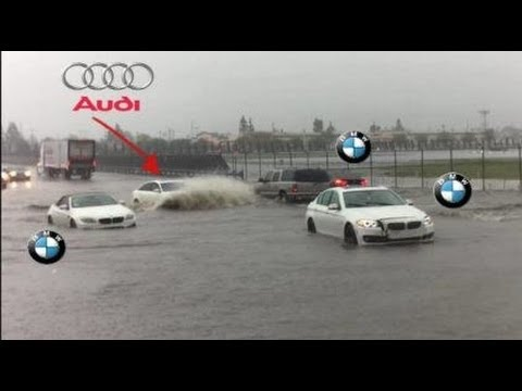 Audi Power - Audi A6 Quattro Absolutely Destroys BMW Xdrive 😜