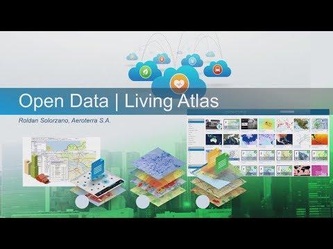 Living Atlas, Open Data
