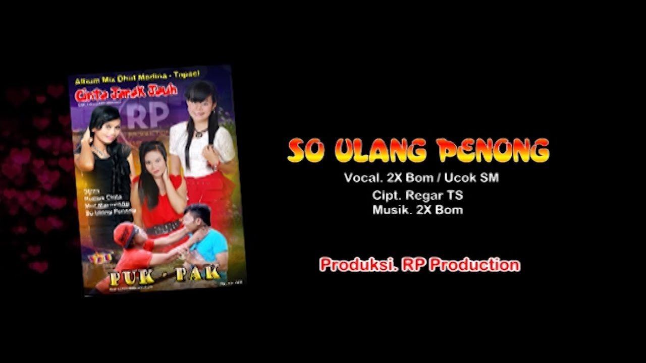 SO ULANG PENONG || 2X Bom Feat. Ucok SM ( Official Music Video )
