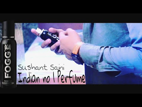 FOGG black collection India's NO 1 Perfume/Ad by sushant Saini