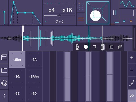 TARDIGRAIN Granular Synth/Sampler - Standalone & AUv3 - Demo for the iPad