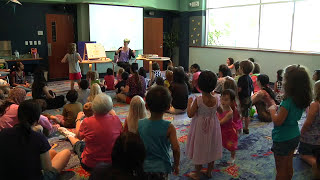Family Story Time at the Allen Public Library