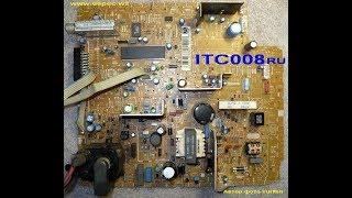 ремонт телевізора tomson 21dc320kg (шасі ITC008) не включається, йде на захист