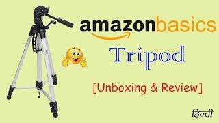 Amazon Basics 60 inch Tripod | Best Tripod under 1300 | Unboxing & Review [Hindi]