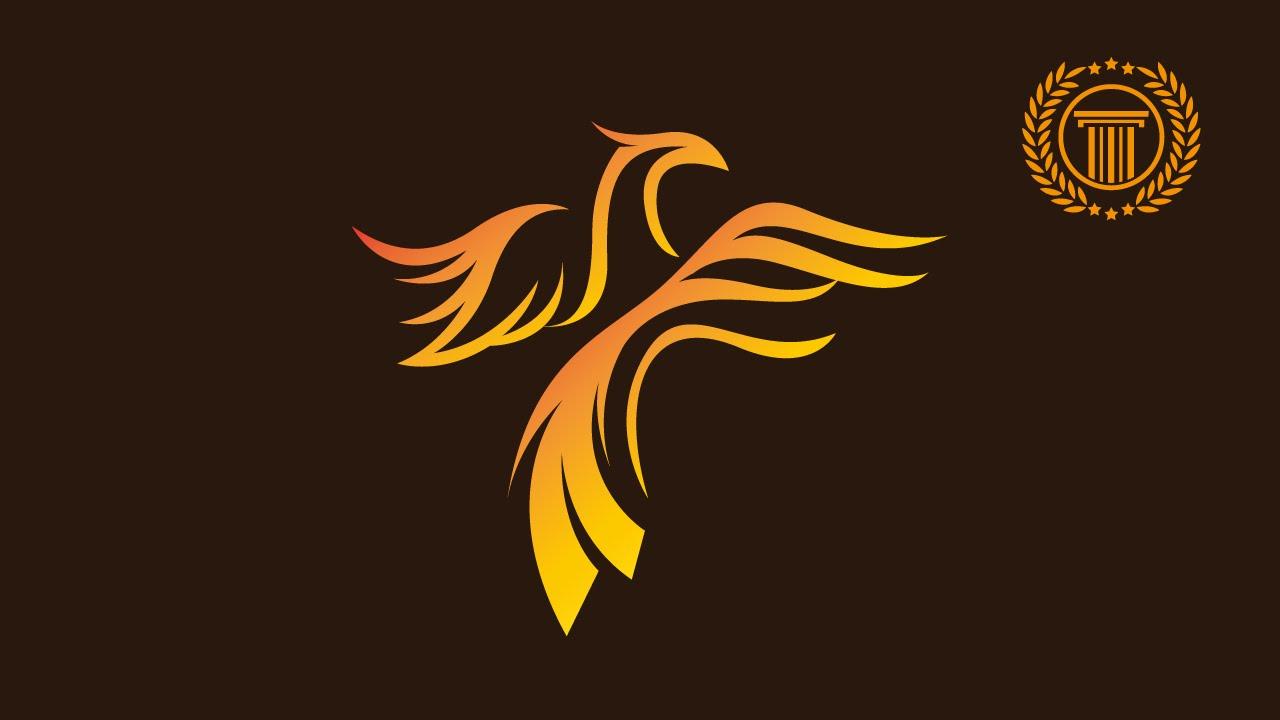 Phoenix Logo Design Tutorial without CorelDRAW X7 - Logo design ...