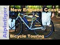 Bicycle Touring USA, New England Coast - Part 1