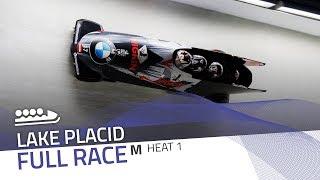 Lake Placid | BMW IBSF World Cup 2019/2020 - 4-Man Bobsleigh Race 1 (Heat 1) | IBSF Official