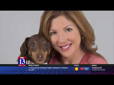 Laura Vorreyer, author of The  Petsitter's Tale - KSTU-TV, FOX Salt Lake City