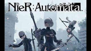NieR: Automata #1 - ps4 - (Gameplay ao vivo em Português PT-BR)