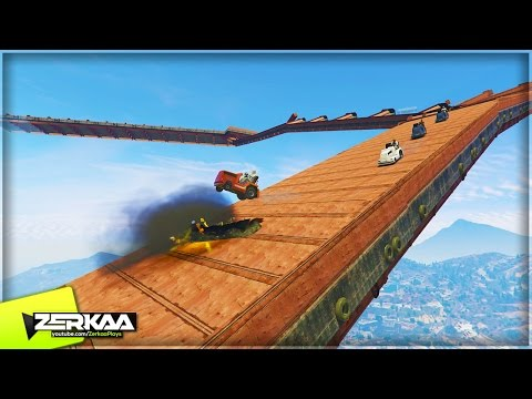 EXPLOSIVE DOWNHILL AIR TUGS | GTA 5 Funny Moments (E740)