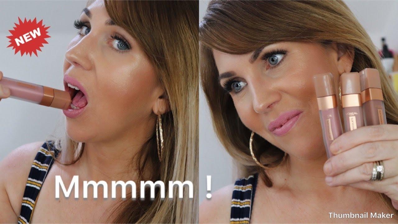 3cf459b5436 NEW!!! L'Oréal Les Chocolats ultra matte liquid lipsticks - YouTube
