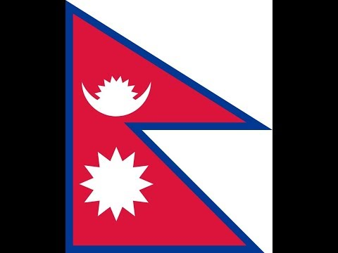 Флаг Непала.