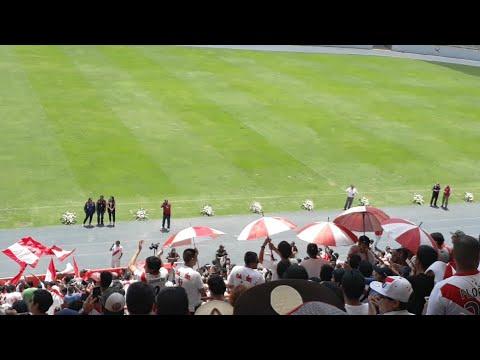 Llegada De Daniel Peredo En El Estadio Nacional Despedida