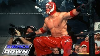 Rey Mysterio makes his WWE debut against Chavo Guerrero: SmackDown, July 25, 2002 thumbnail