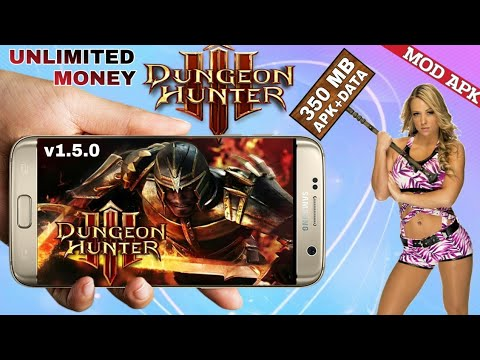 DUNGEON HUNTER 3 V1.5.0 Offline MOD APK UNLIMITED MONEY Download For All Android With HD GAMEPLAY