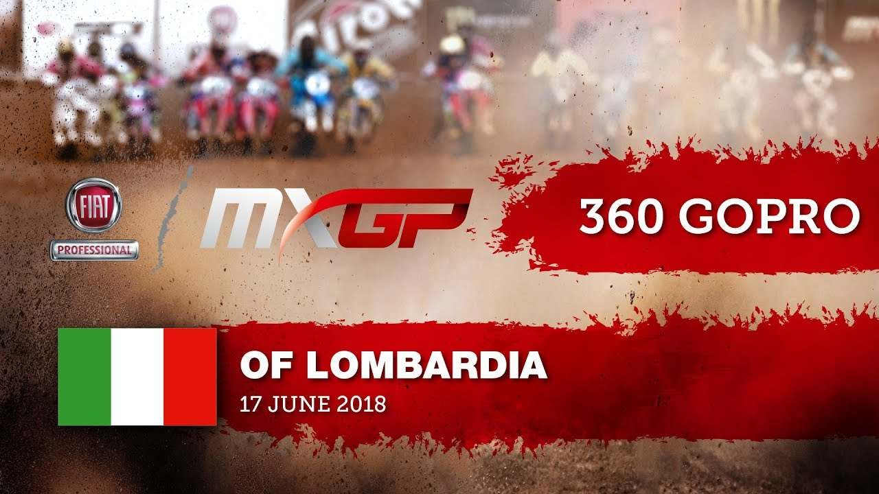 Tim Gajser 360 GoPro Lap Fiat Professional MXGP of Lombardia 2018 #motocross