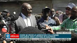 The violence in Gauteng appears to be gaining momentum