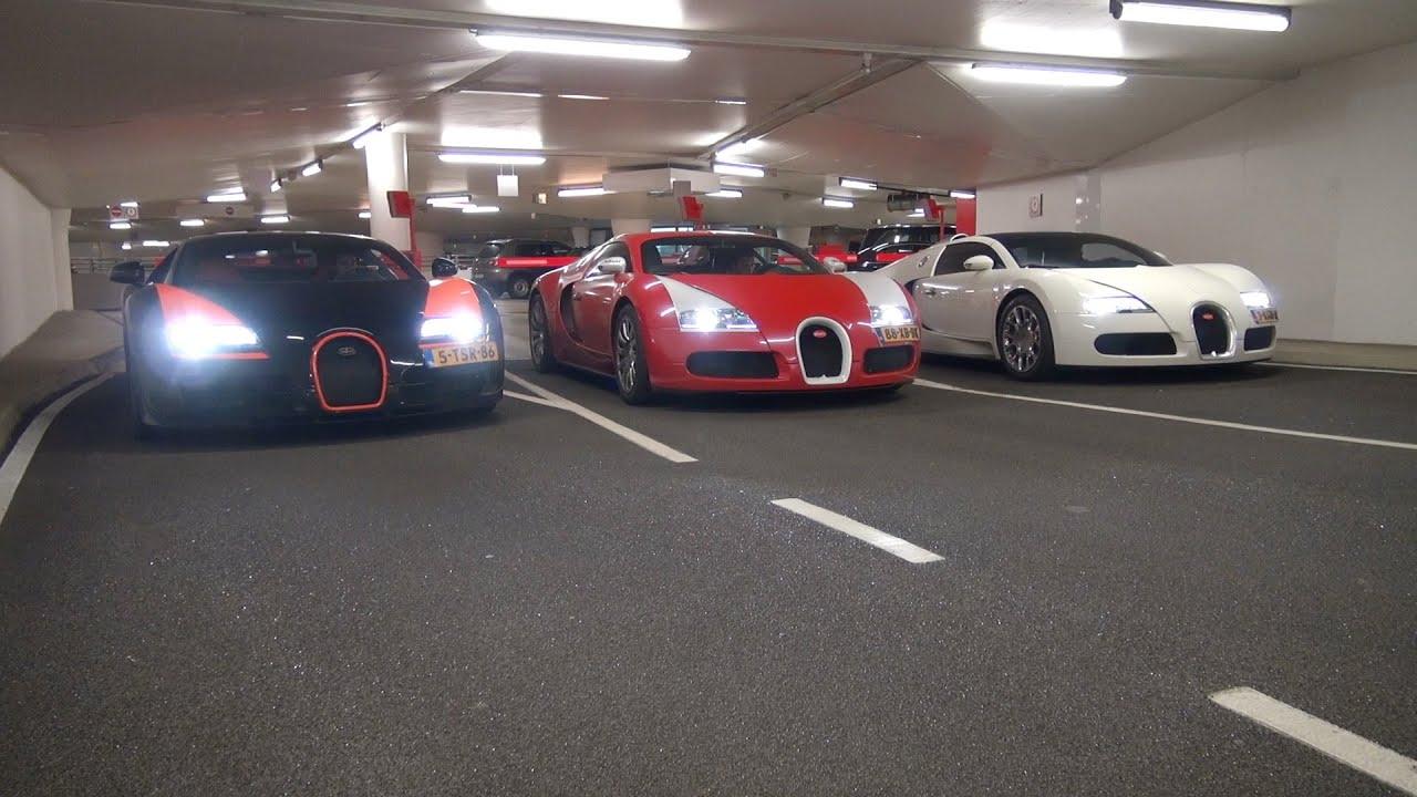 Of Bugattis The Ultimate Bugatti Veyron Line Up Youtube