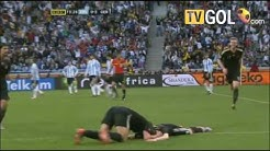 Germany vs Argentina 3rd July 2010 4-0 Highlights english commentator