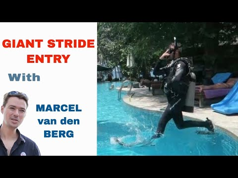 PADI Skill Circuit - Deep Water Entry Giant Stride PADI IDC & Divemaster Skills Circuit