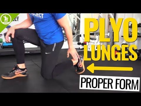 How To Do PLYO LUNGES Safely (Lose Weight and Gain Explosiveness!)