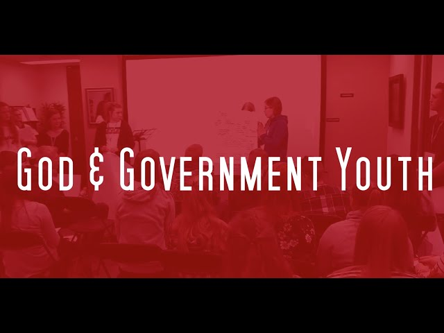 God and Government 2020 Announcement!